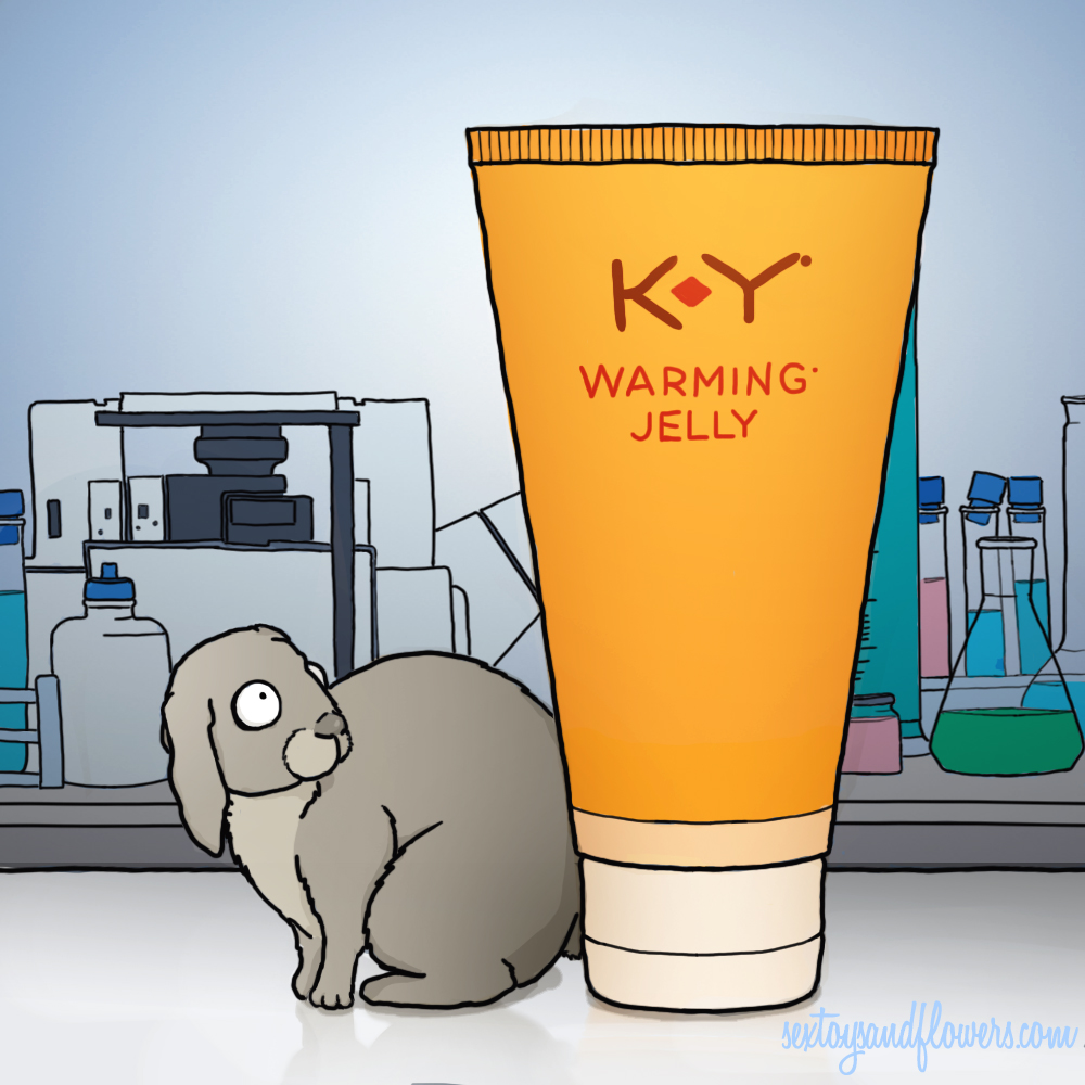 A Rabbit Afraid of K-Y Warming Jelly