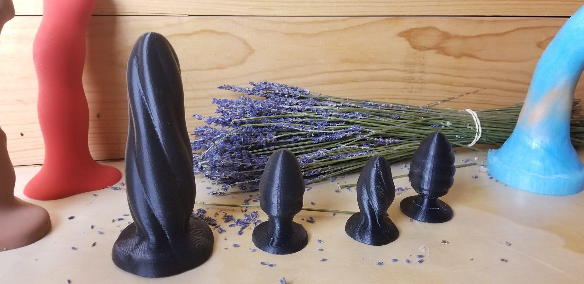 3D Anal Dildo dildo sculptor - sex toy collective