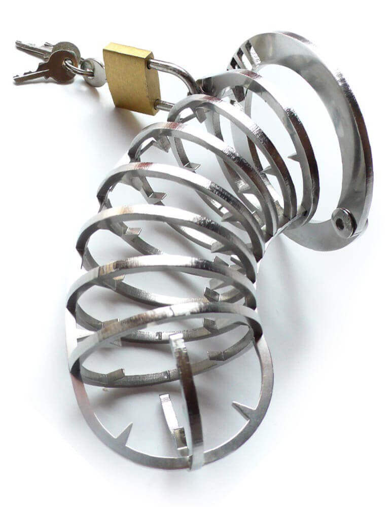 Best Spike Cage for Extreme Male Chastity