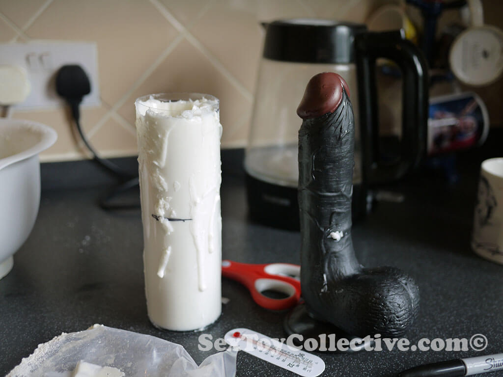 Clone a willy-Making the dick mold