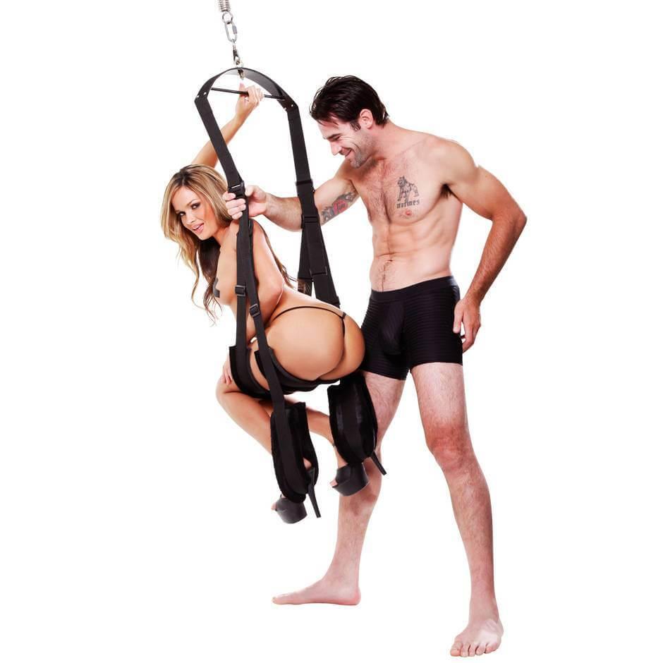 Fetish Fantasy 360-degree Spinning Sex Swing