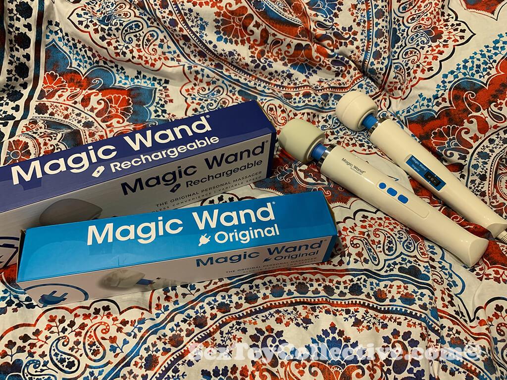 Hitachi Magic Wand vibrators review
