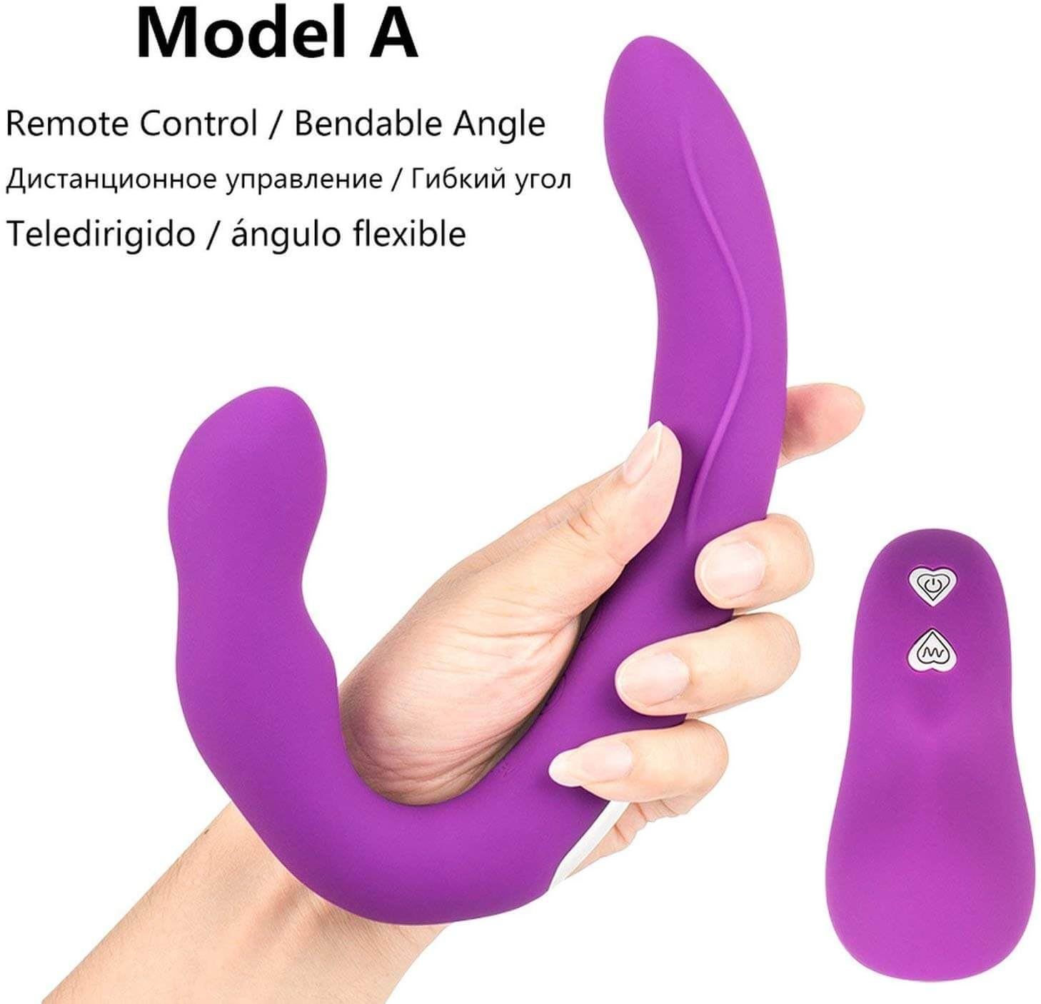 Amazon Cheap Silicone Strap-Free Strap-on